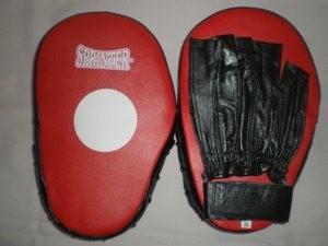 Лапы боксёрские своими руками