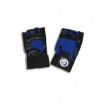Перчатки для тяжелой атлетики с узким напульсником на липучке