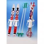 Набор лыжный детский 70 см (лыжи пластмассовые 70см   палки алюминий)