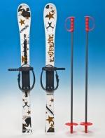 Набор лыжный детский 90см (лыжи пластмассовые 90см   палки алюминий)