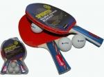 Набор для настольного тенниса Sprinter  BR17 (2ракетки   3 шарика в слюде)