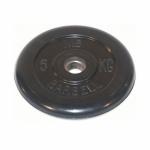 Диск обрезиненный MB barbell 5 кг D-26мм