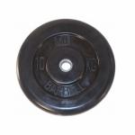 Диск обрезиненный MB barbell 10 кг D-26мм