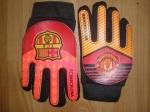 Перчатки вратарские детские с клубной символикой