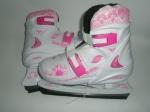 Коньки детские раздвижные Sprinter  229 Pink
