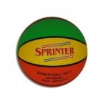 Мяч баскетбольный Спринтер трехцветный