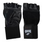 Перчатки Sprinter широкий напульсник кожа