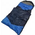 Мешок спальный из холлофайбера,синий с голубыми вставками. (190 30 см) ZQ-1.25