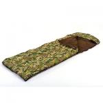 Спальный мешок одеяло с капюшоном (320г на м2, 190 30х75см,  5-17)