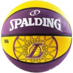 Мяч баскетбольный Spalding NBA Team Los Angeles Lakers